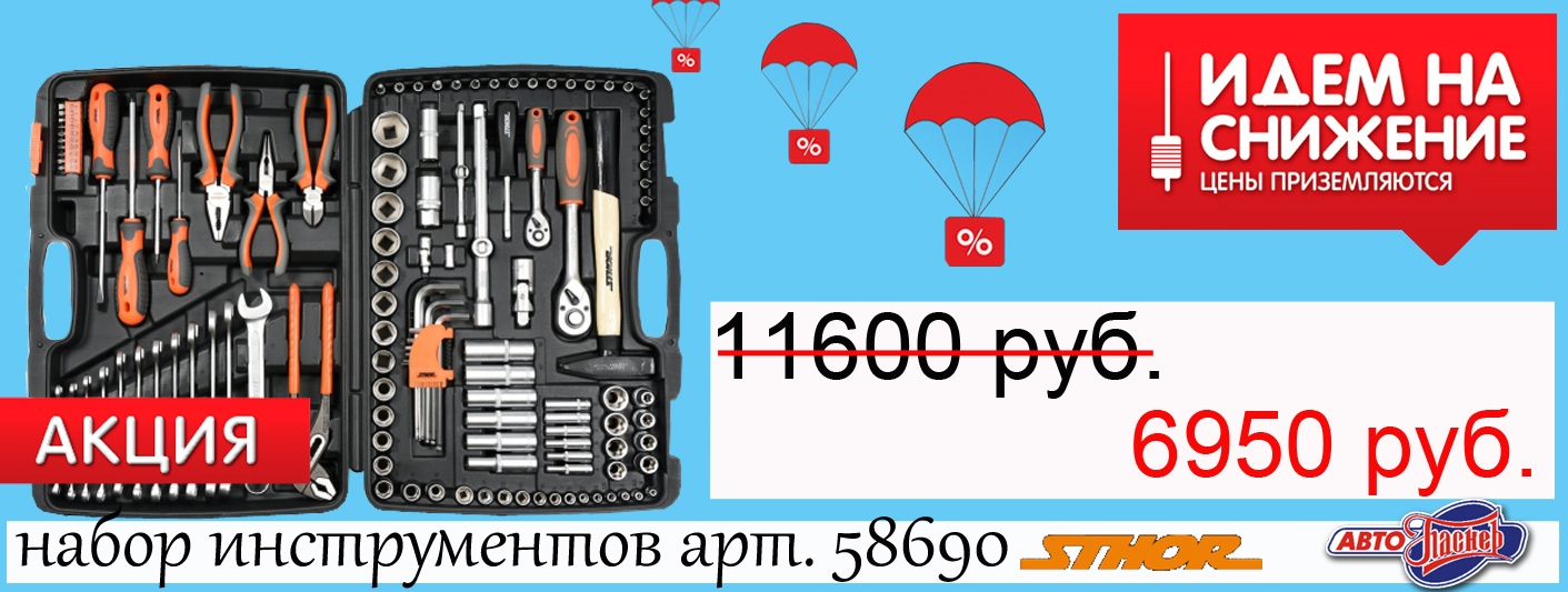 Набор инструмента STHOR 122 предмета