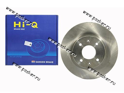 Диск тормозной Hyundai Getz Sangsin SD1021 передний - купить по выгодной цене | Интернет-магазин «АвтоПаскер»