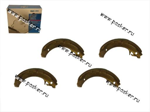 Колодки тормозные 2108-15 1118 задние ВИС ОАТ