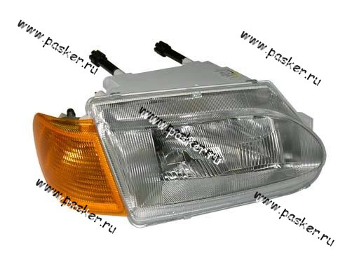 Блок фара 2115 14 Automotive Lighting правая желтый указатель 054-01