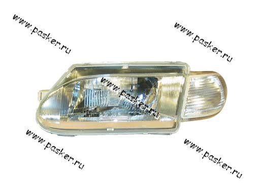 Блок фара 2115 14 Automotive Lighting левая белый указатель 053-02