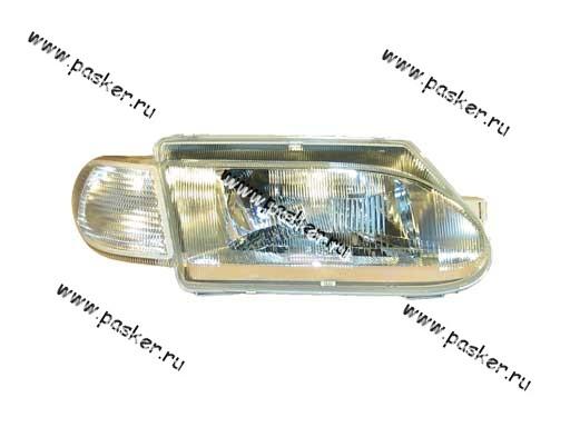 Блок фара 2115 14 Automotive Lighting правая белый указатель 054-02