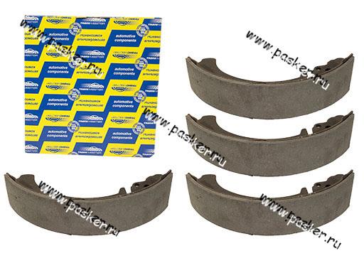 Колодки тормозные 2101-07 2121-213 2123 Chevy Niva задние Transmaster