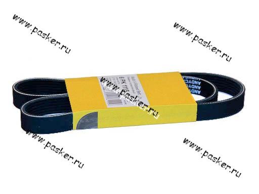 Ремень генератора 2110-12, 2170 и компрессора А/С ANDYCAR 6PK1115