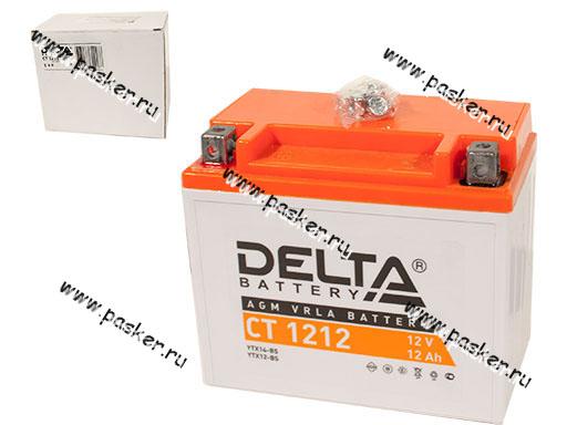 ����������� DELTA MOTO CT 1212 ����� �/�� YTX14-BS YTX12-BS