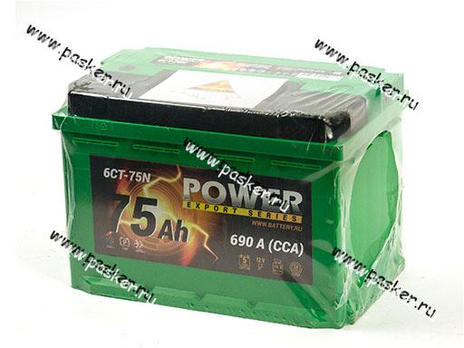 Аккумулятор POWER 75Ач EN690 277х175х190
